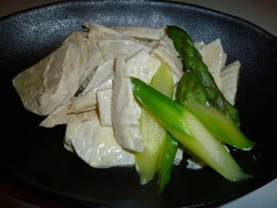 竹の子辛しマヨネーズ和え