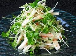 長芋 サラダ