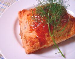 白身魚とフェンネルのパイ包み焼き