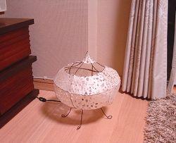 手作りランプ