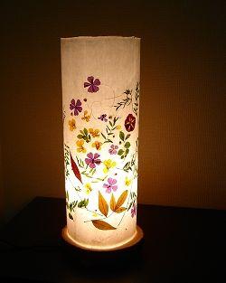 手漉き和紙ライト