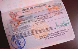 インドのビザ