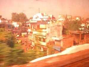 インドの車窓から