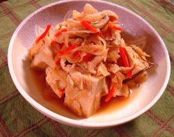 高野豆腐入り切干大根