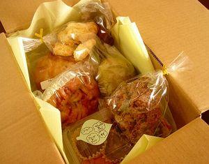 いちごさんのパンとお菓子