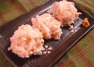 桃色豆腐シュウマイ