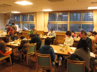12月8日 オレンジカフェ