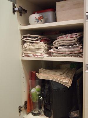食器棚の収納�