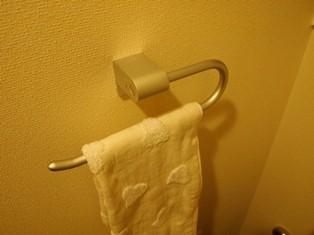 トイレのタオルホルダー