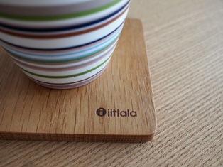 イッタラ アアルト 木製コースター