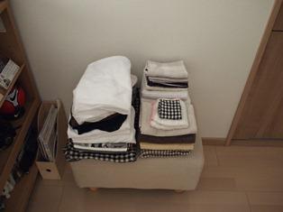 和室のない間取りの洗濯物事情