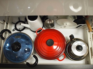 キッチン収納(お鍋)