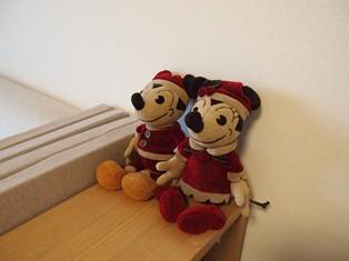 クリスマスミッキー&ミニー