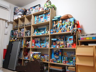 洋室(おもちゃ部屋)