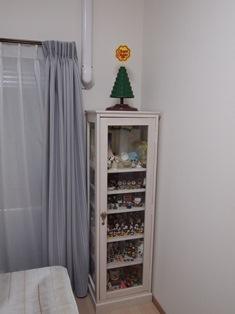 洋室(寝室)の飾り棚
