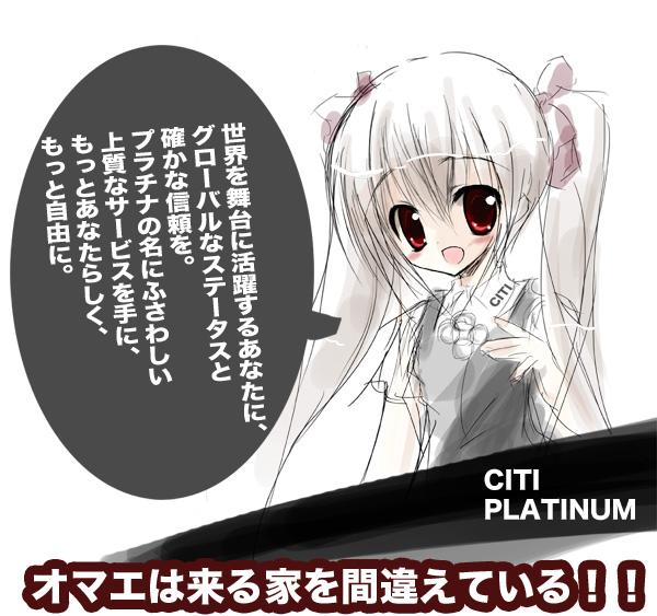 citi select visa platinum card セレクトプラチナカード