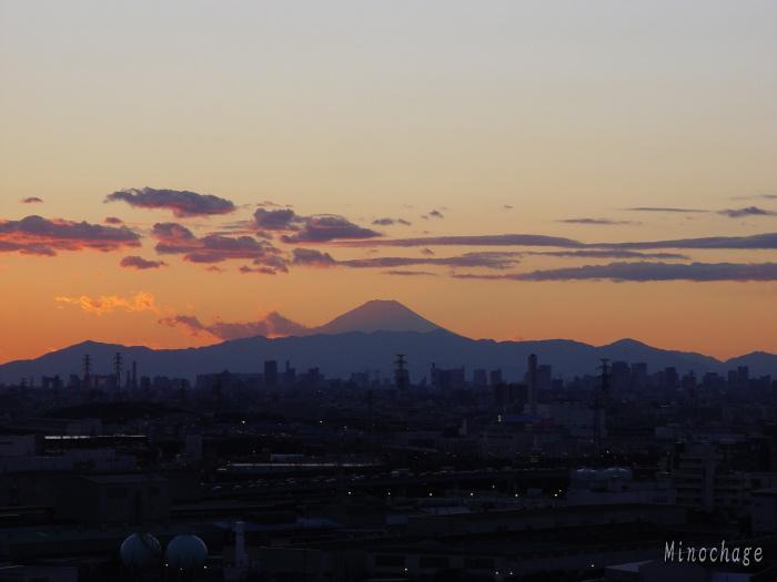 Fuji from Funabashi02