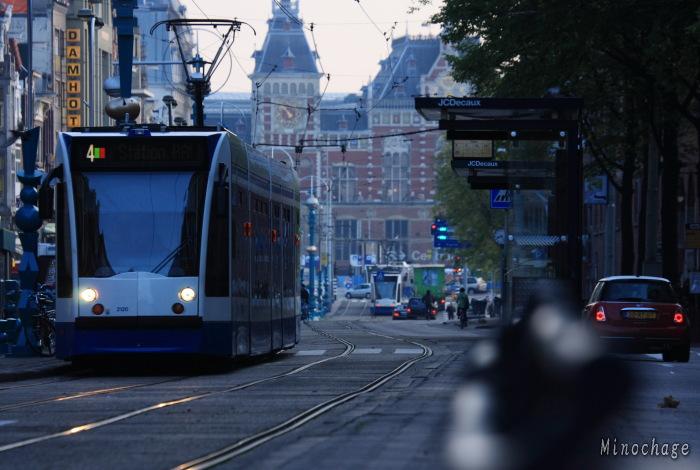 アムステルダムの夜明け