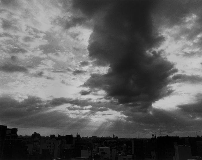 自宅のベランダから撮影した雲