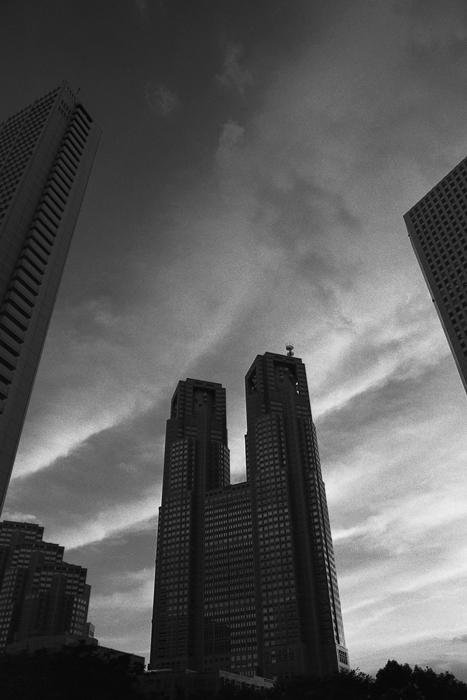 都庁の夕焼け