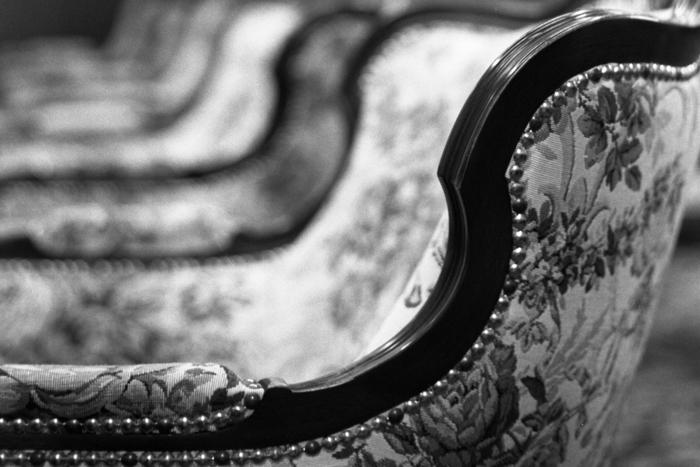 阿蘭陀館の椅子