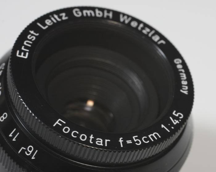 Focotar 5cm f1.4