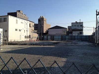 飯田商工会議所跡地20120417