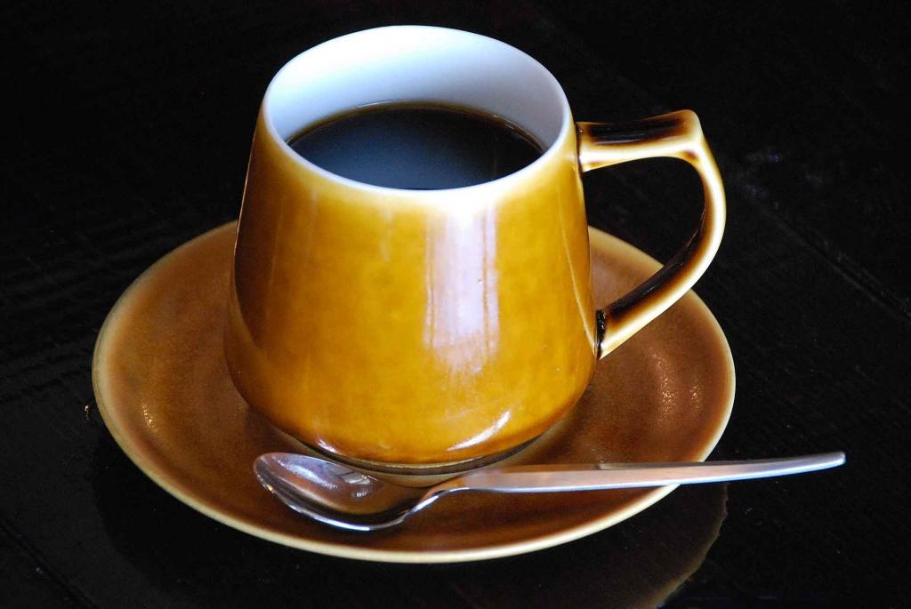 自家焙煎ホットコーヒー