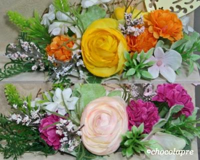 フラワーベンチ 花
