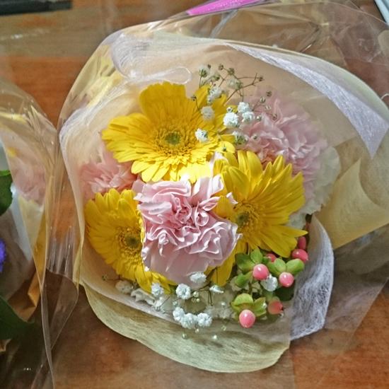 プリティ花束