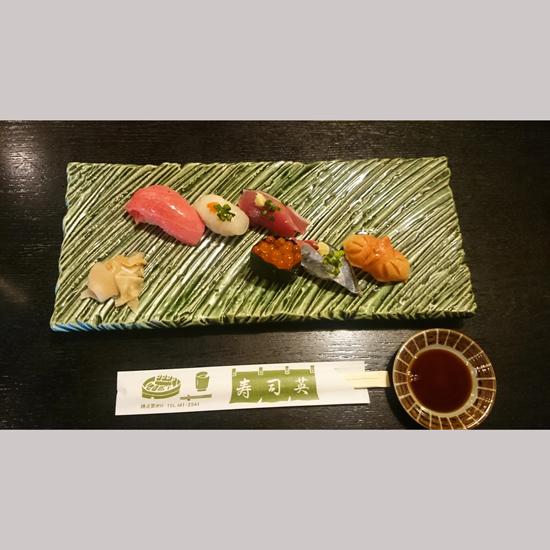 寿司英 握り寿司その1