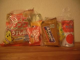 お菓子たち