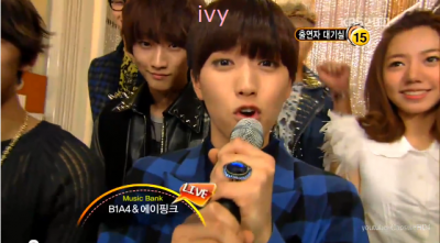 111111,111118 Behind the Show と 111125 Back stage(Music Bank)   B1A4