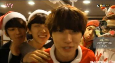 111224 BABA  Episode 11: Merry Christmas BANA! と 111223 Couple (Music Bank)     B1A4