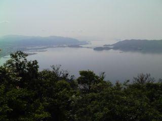 太華山笠戸島方面