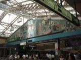 上野駅中央改札上の壁画