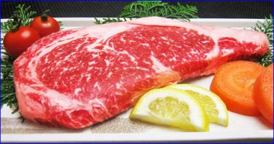 赤牛のステーキ 阿蘇の司ビラパークホテル