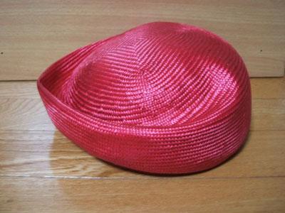 手作り帽子2