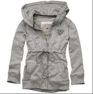 Abercrombie & Fitch グレーパーカー