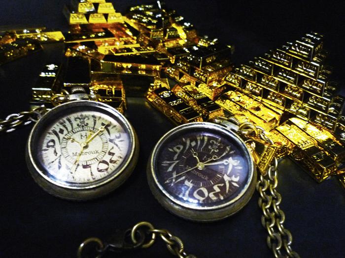 ハンドメイド 懐中時計