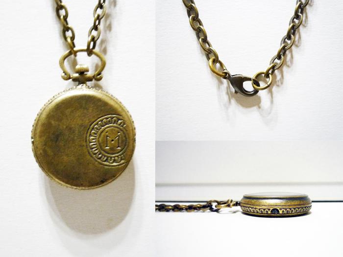 真鍮 懐中時計
