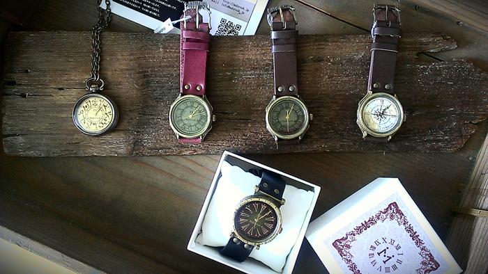 九州 手作り時計