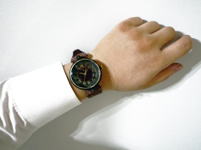 腕時計 気泡