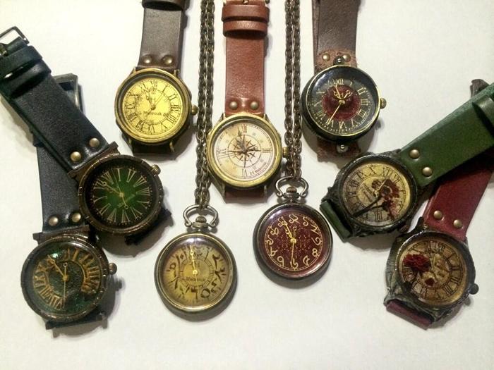 心斎橋 手作り腕時計