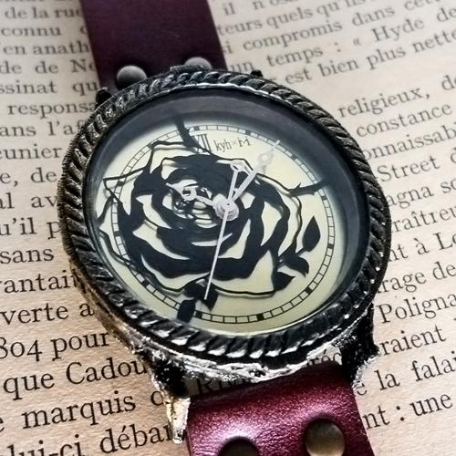 切り絵 腕時計