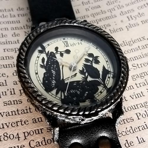 切り絵 時計