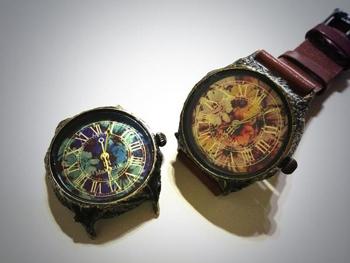 ガーベラ 時計