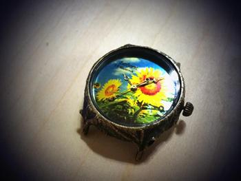 ひまわり 腕時計