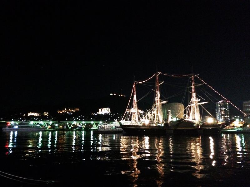 出島 夜景