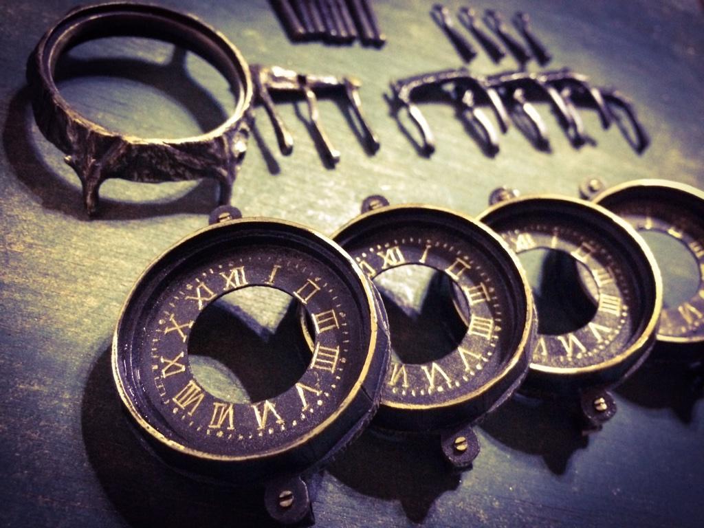 ハンドメイド腕時計 作り方